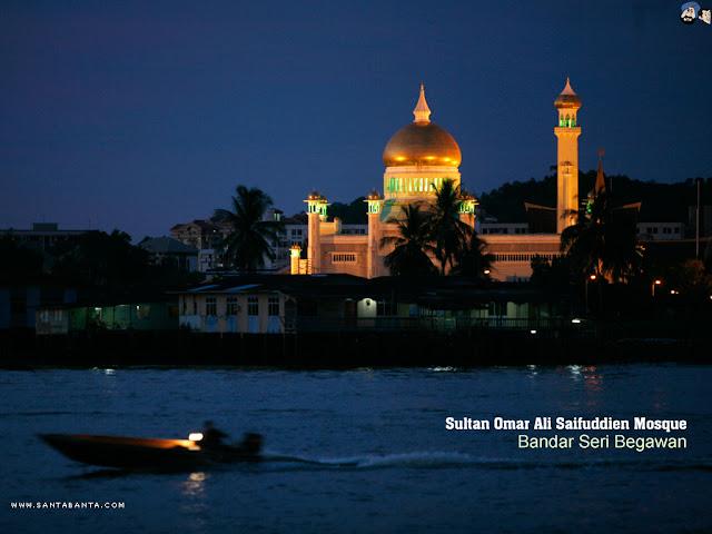 Sultan Omar Ali Mosque Wallpapers