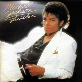 Carátula del disco Thriller de Michael Jackson (1982)