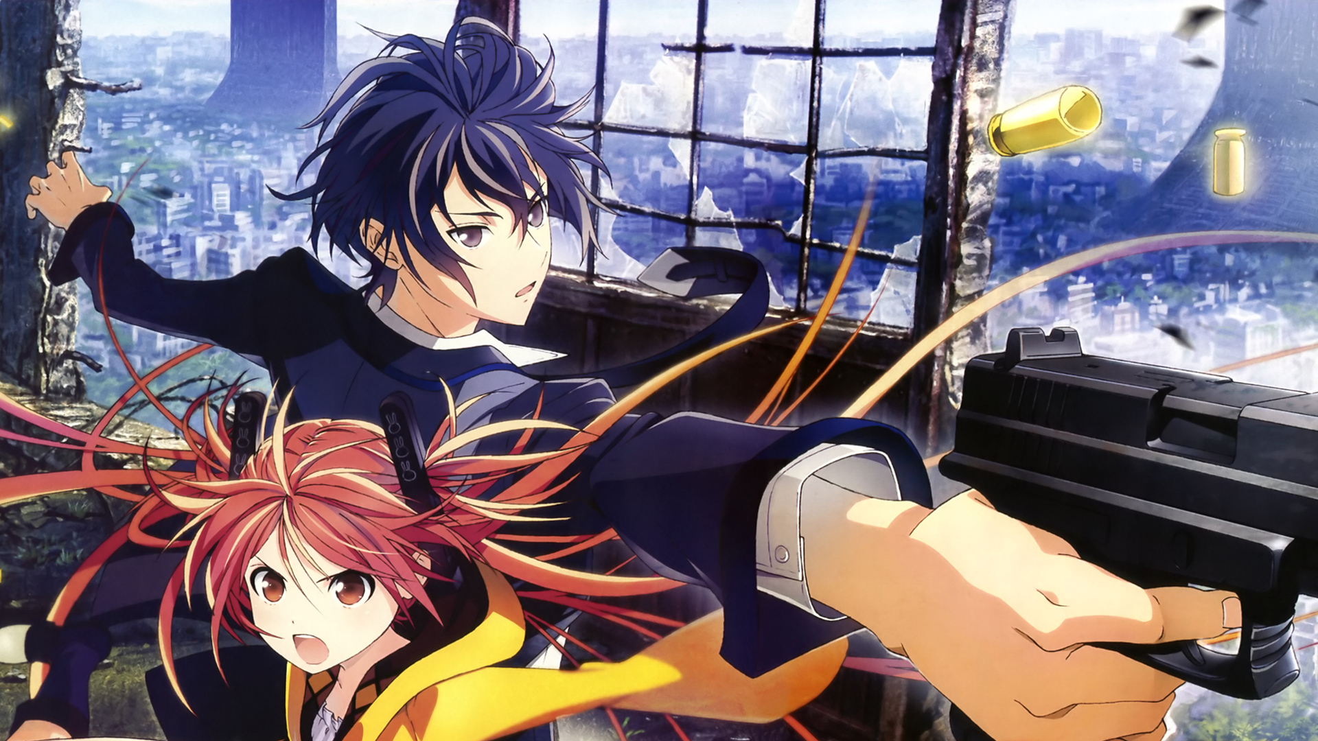 black bullet anime 1080p 7k wallpaper hd