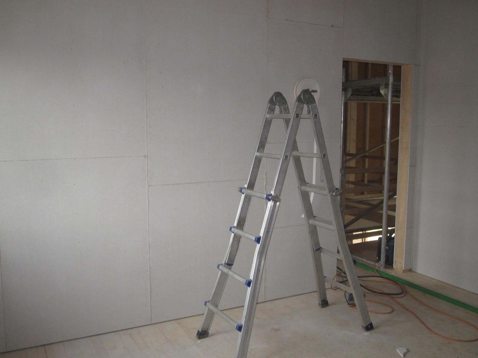 holzhaus wir bauen ein haus aus holz zwischenw nde isolieren. Black Bedroom Furniture Sets. Home Design Ideas