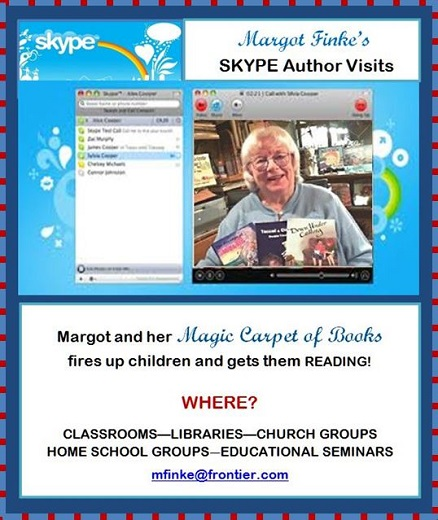 Ask for a SKYPE AUTHOR VISIT