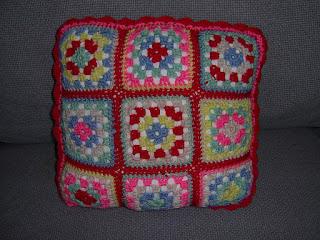 Cath Kidston Crochet cushion