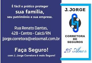J.JORGE CORETORA DE SEGUROS HÁ 25 ANOS NO MERCADO