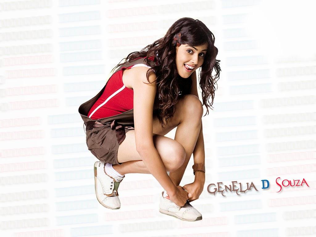 Genelia D'Souza HD Wallpaper