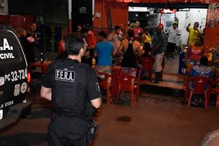 Polícia Civil deflagra terceiro dia de operação nas ruas da capital em combate à criminalidade