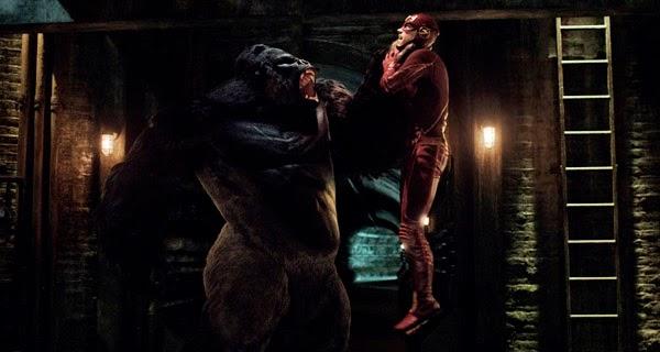 Grodd vs The Flash
