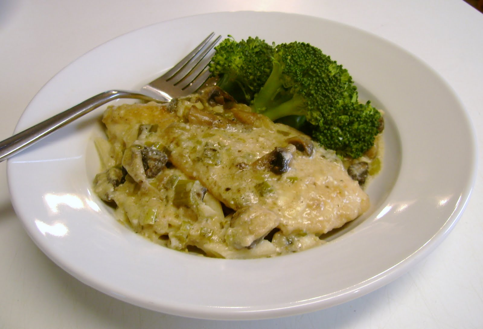 Mushroom And Swiss Chicken Recipe — Dishmaps