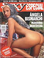 Confira as fotos da modelo Ângela Bismaarchi, capa da Sexy Premium de junho de 2003!