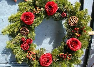 Decoración de Navidad, Coronas
