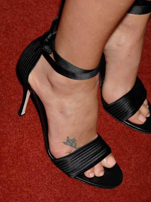Charlize Theron Tattoos