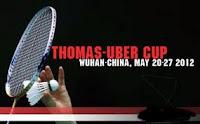Jadwal Piala Thomas dan Uber