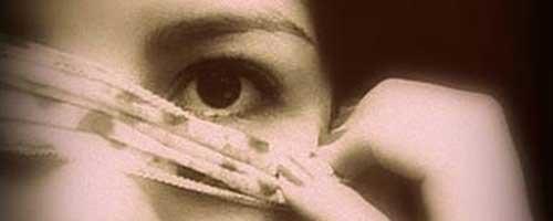 quitarse la venda de los ojos
