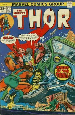 Thor #237, Ulik