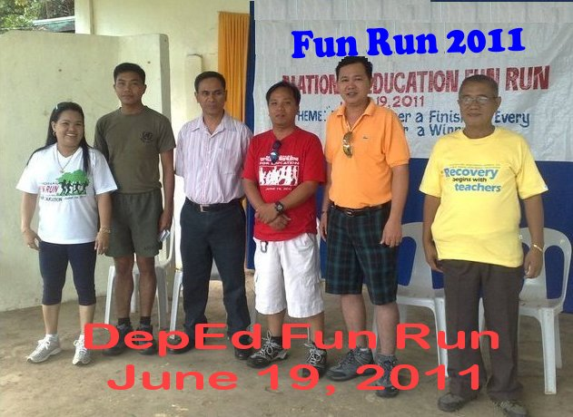 DepED Fun Run 2011