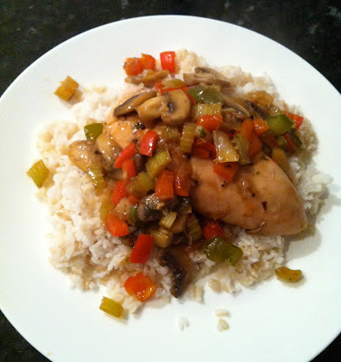 Southern Spoon blog: Cajun Chicken and Rice