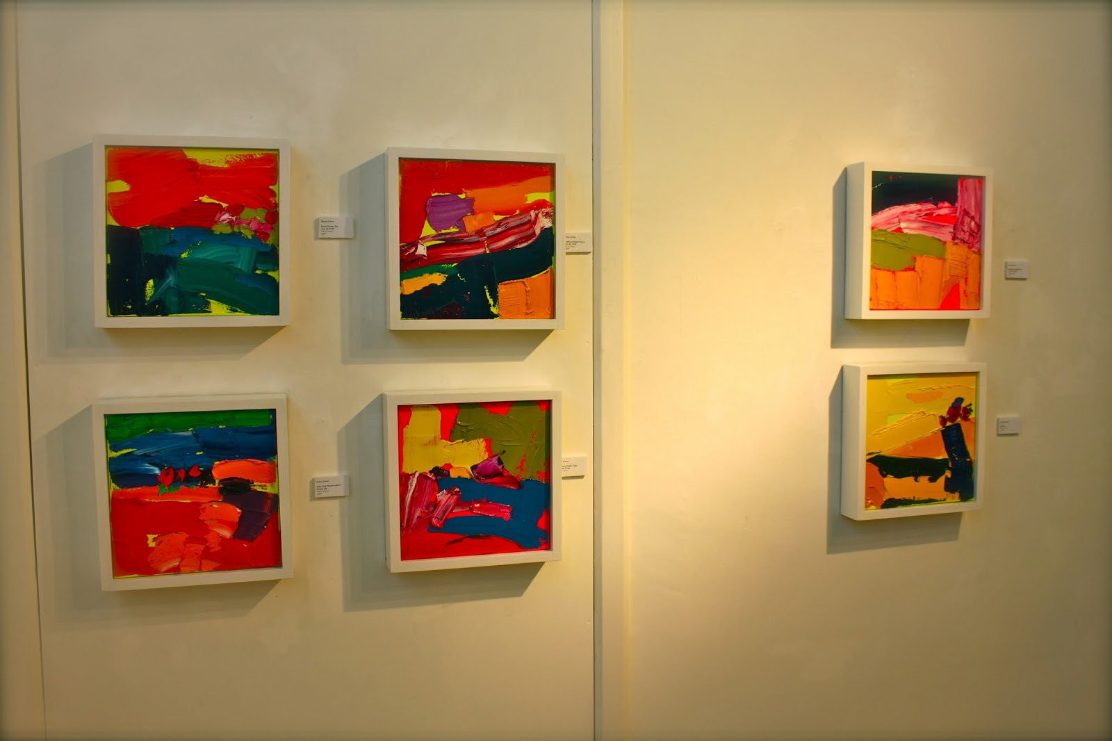 Eloise Govier\'s \'Let there be Fluoro!\' Off the Wall Gallery Cardiff ...