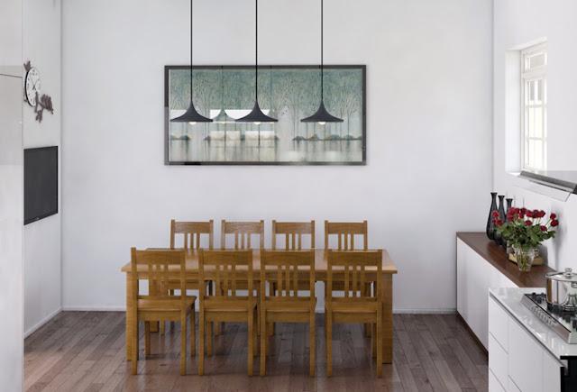bàn ăn gỗ