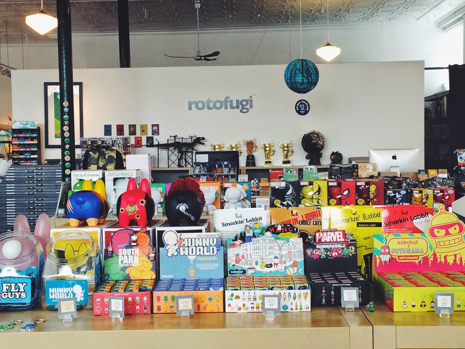 Simply Sinova Rotofugi Designer Toy Store Amp Gallery