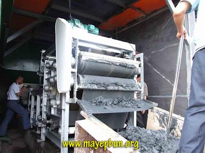Máy ép bùn băng tải Chishun đang vận hành