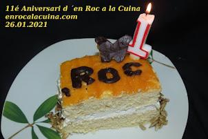 Es el nostre 11é. Aniversari de bloc, Moltes gràcies a tot@s  26.01.2021