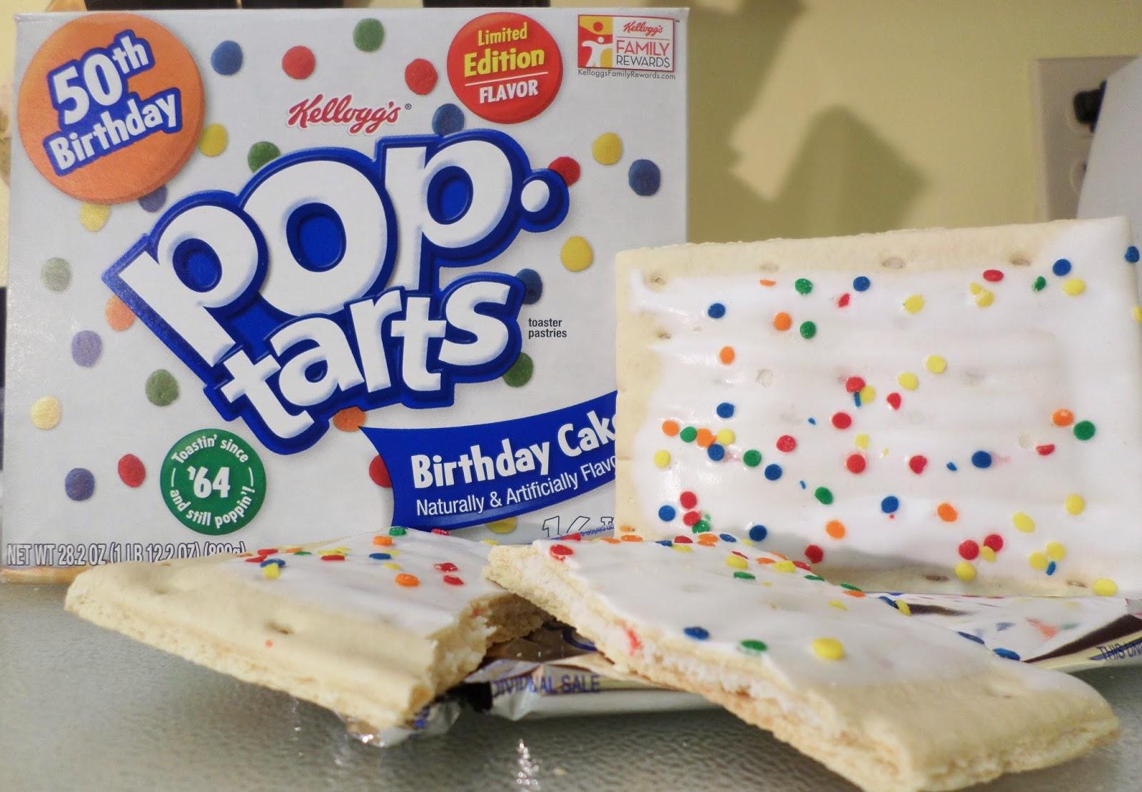 Deep Fried Birthday Cake Pop Tarts
