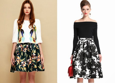 Eniwhere Fashion - Christmas Wishlist - Midi floral skirt