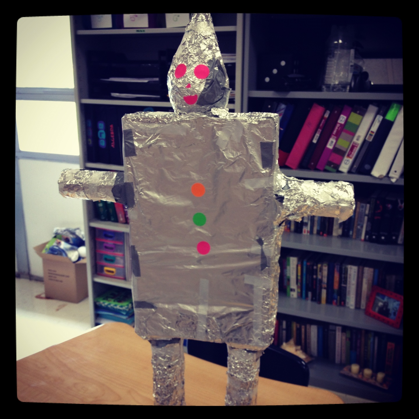 Misscalcul8 surface area tin man project for Tin projects