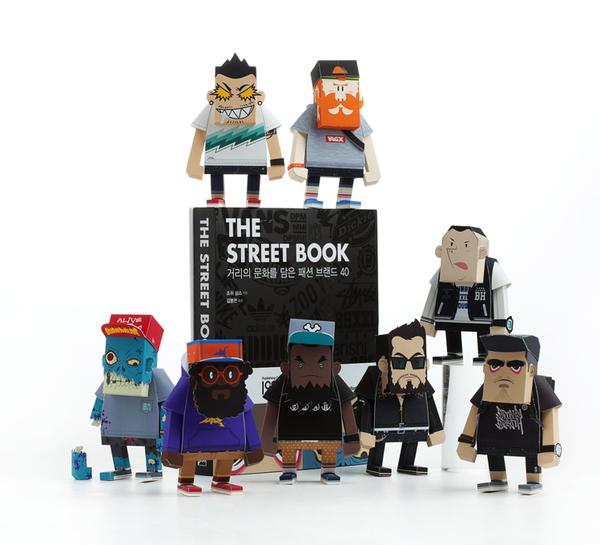 Paper Toys de Momot