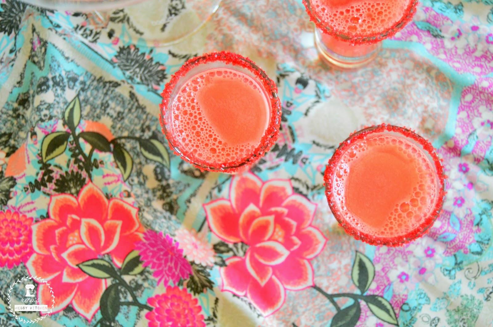 Margaritas de Melancia by Rita's Messy Kitchen