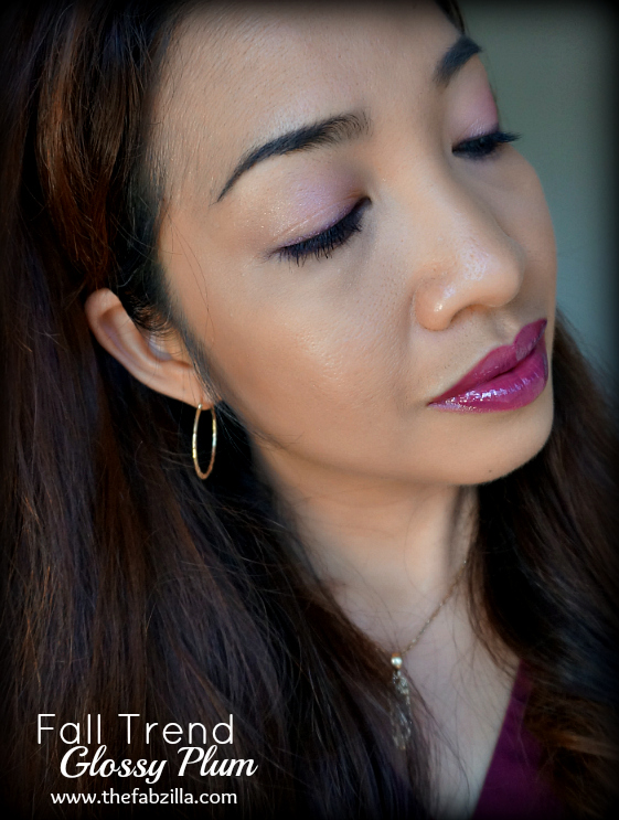 Fall Makeup Trend, Dark Lips, Berry Lips, Plum Lips, Matte Face