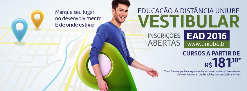 Vestibular UNIUBE-ITABUNA dia 29 de setembro - Inscrições na Chaves JBF compras de cacau Itajuípe