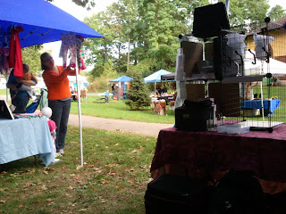Vendor Tents at Fairies In The Park