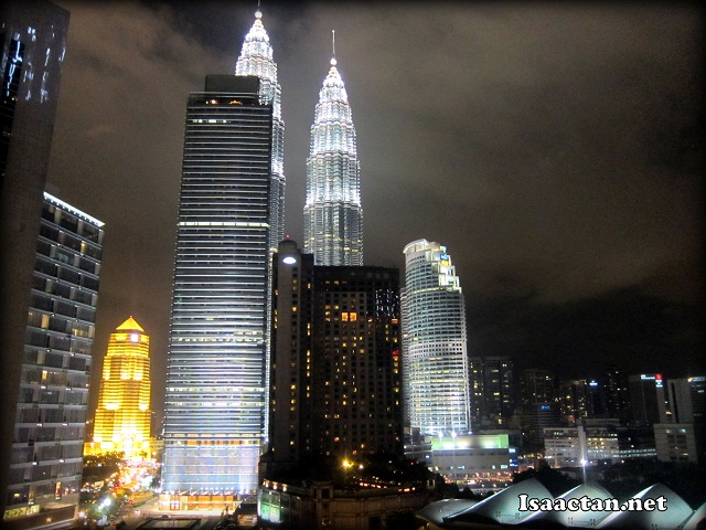 The view from Cedar On 15 Impiana KLCC