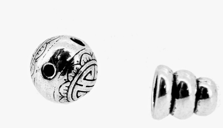 Silver Guru Bead