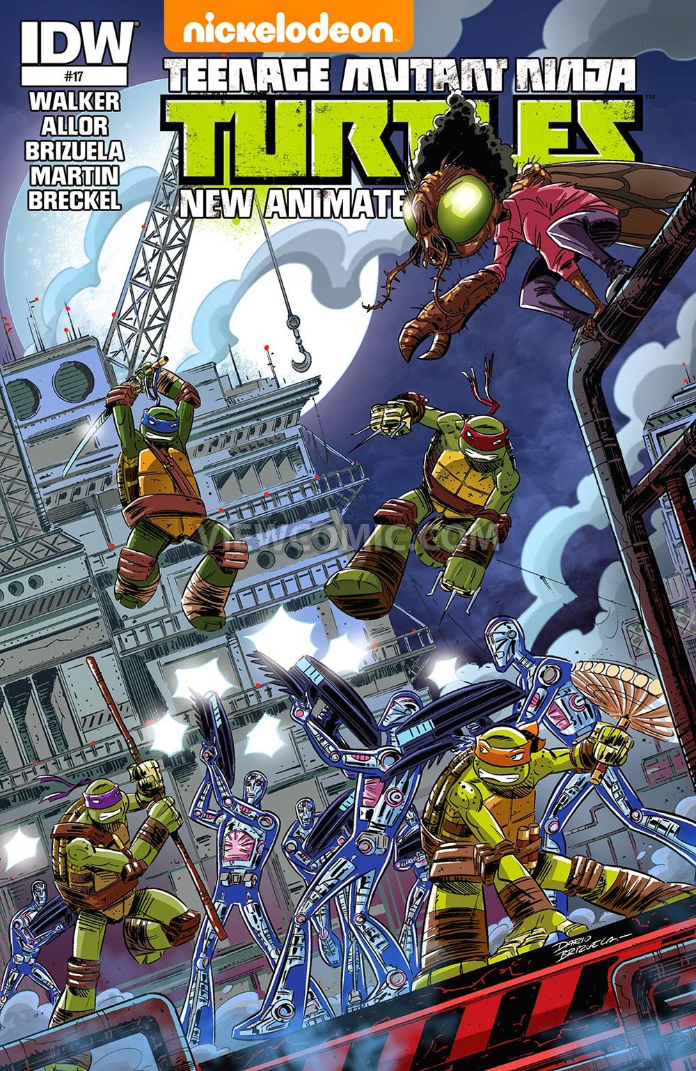 teenage mutant ninja turtles u2013 new animated adventures viewcomic