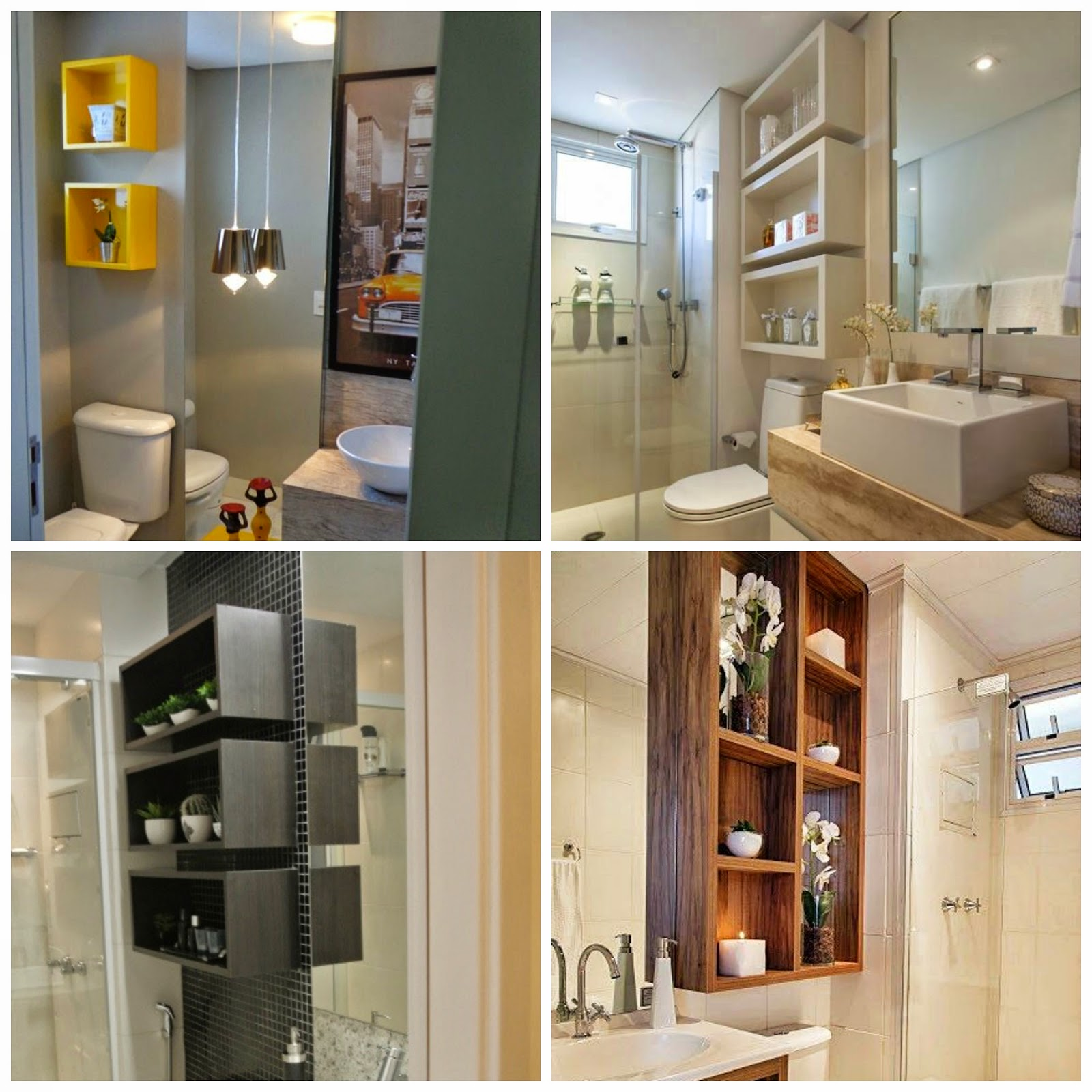 decoracao de banheiro leroy merlin:Dicas da Gaby: InspiraDecor  #A37228 1600 1600