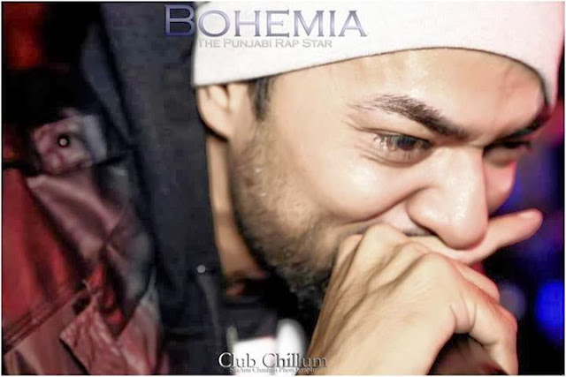 BOHEMIA THE PUNJABI RAP STAR - LIVE CLUB CHILLUM 6