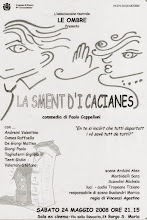 "La pagina di ""Ficcanaso"" (La smènt d'i cacianès) dell'Associazione Teatrale ""Le Ombre"""