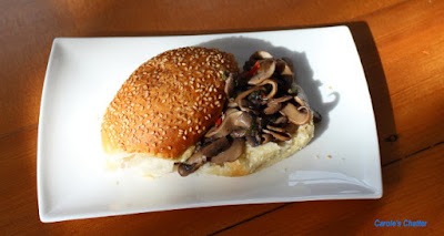 Carole's Chatter: Mushrooms in a Sesame Bun