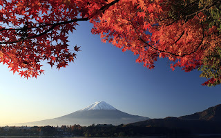 Mount Fuji desktop background