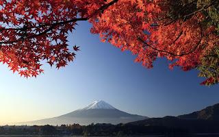 Mount Fuji desktop background