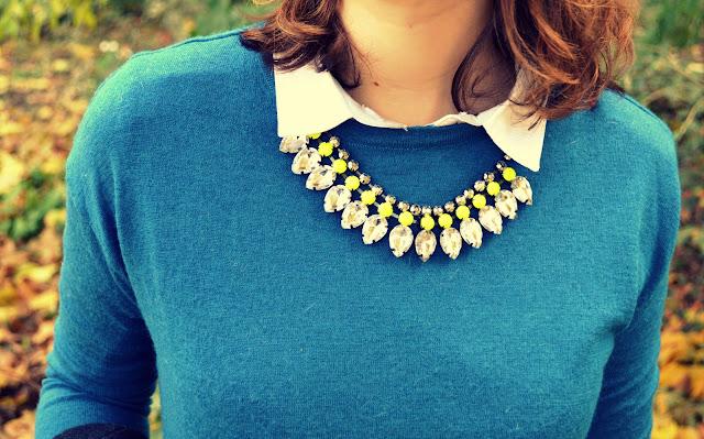 collier-diamant-hm-neon-pull-bleu-la-redoute