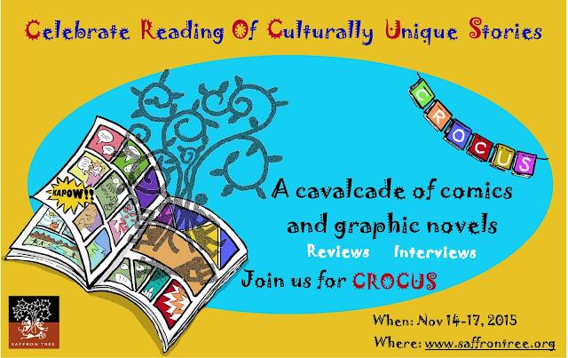 Saffron Tree CROCUS Graphic Novels and Comics book reviews 2015