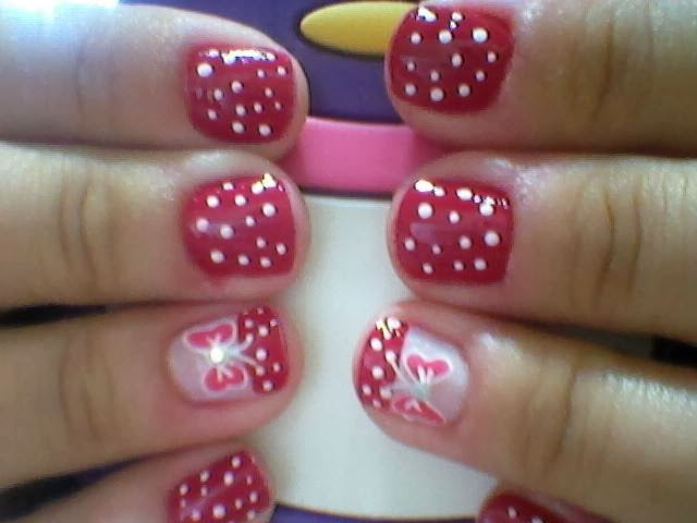 unhas decoradas estreante celiane3