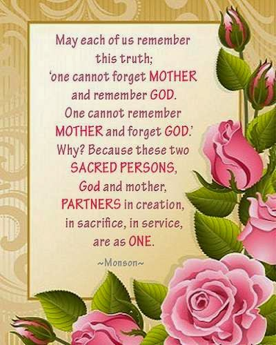 In Memory Of My Mother For Mothers Day Quotes Quotesgram