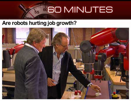 Cbs News 60 Minutes Provides New Definition Of Robots Robohub