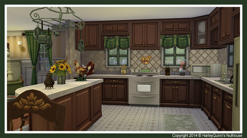 Harleyquinn 39 s nuthouse october 2014 for Sims 2 kitchen ideas