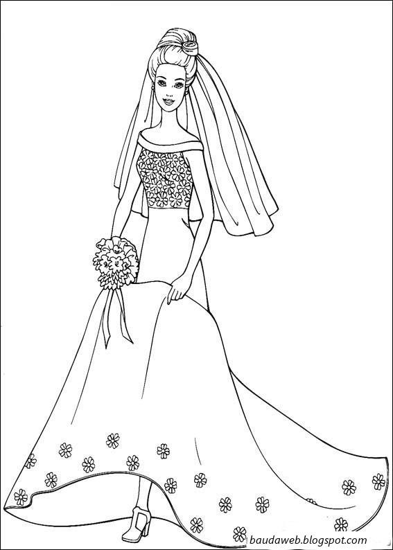 Ba da web desenhos da barbie para colorir for Schoolboy q girl power shirt