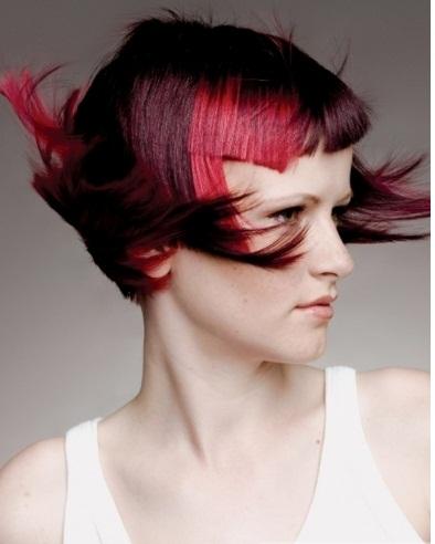 Amazing Magenta Hair Highlights 2013