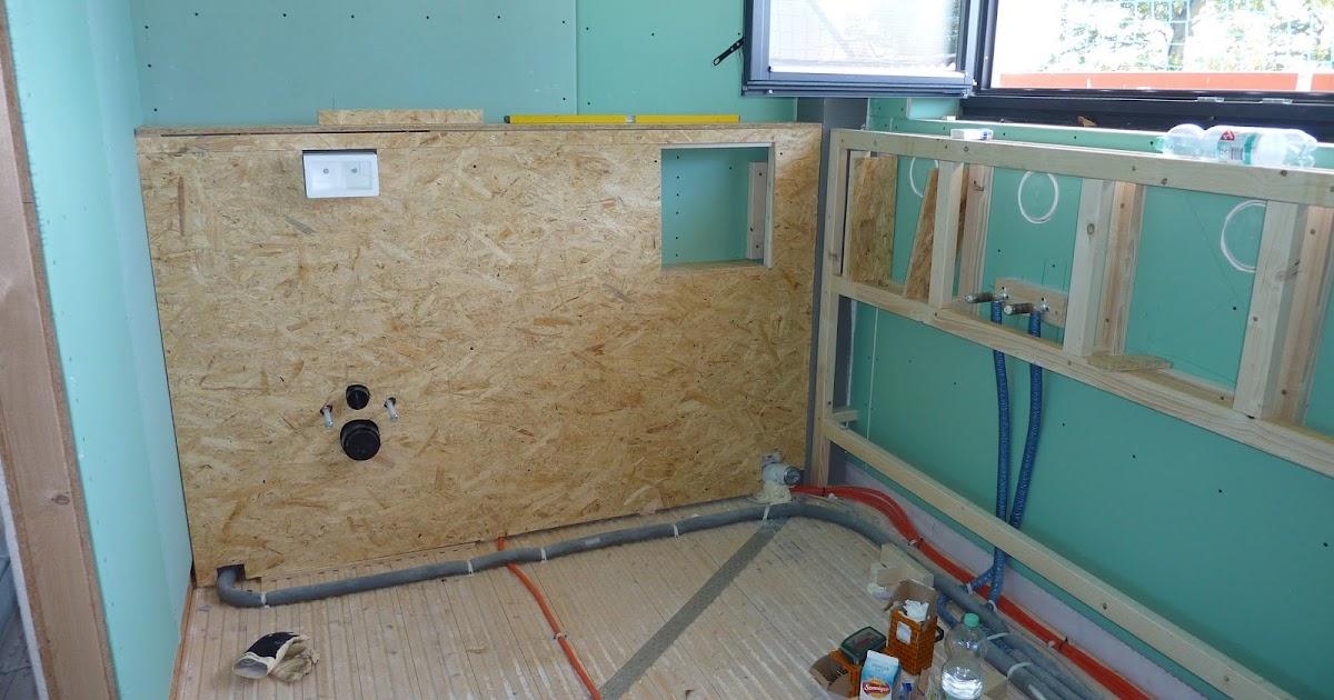 unser eichh rnchen haus vorwandkonstruktion bad teil 1. Black Bedroom Furniture Sets. Home Design Ideas